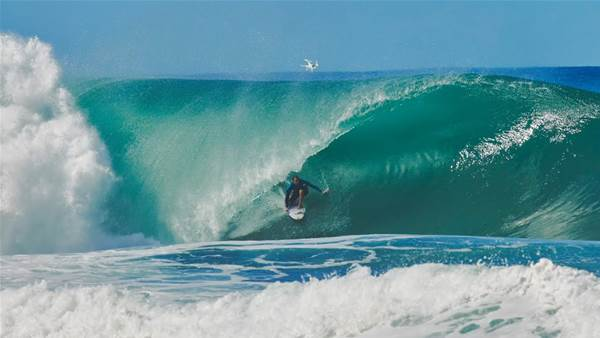 Watch: This is What Pipeline Did After the Pipe Masters Was Suspended