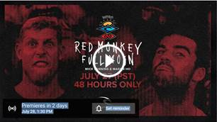 'Red Monkey Full Moon' 48hrs of access to Mason Ho and Mick Fanning