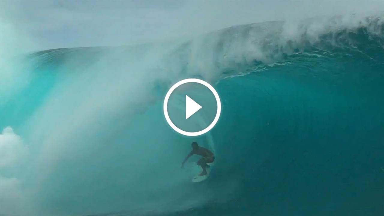 Double Billing at Teahupoo