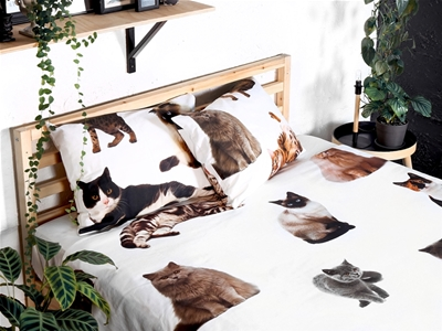 stuff mondays – the club of odd volumes cat bedding