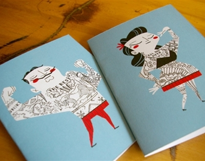 tattoo-it-yourself greeting cards