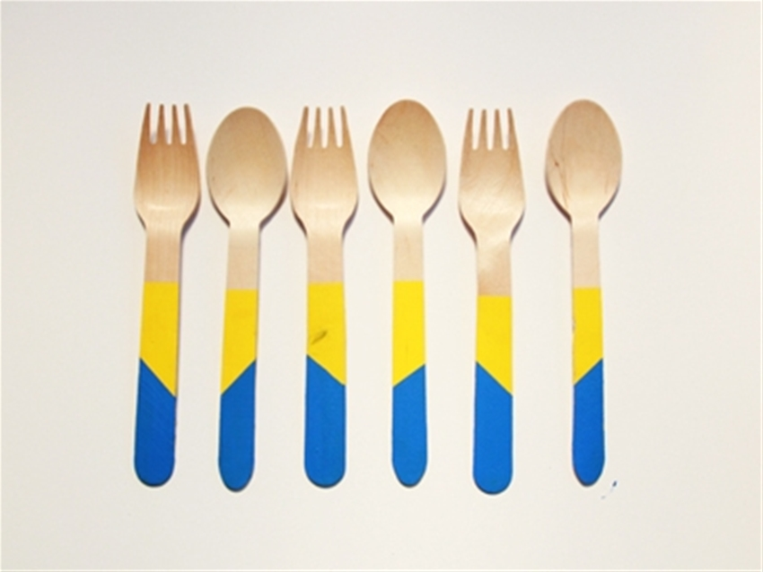frankie exclusive diy: personalised party cutlery