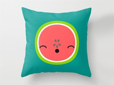 house of wonderland happy cushions