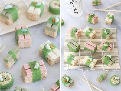 diy kit kat sushi