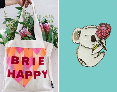 all of the pretty things at this year's bowerbird  market