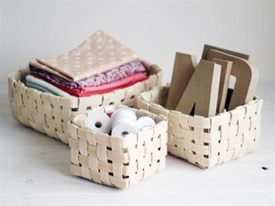 woven storage basket diy