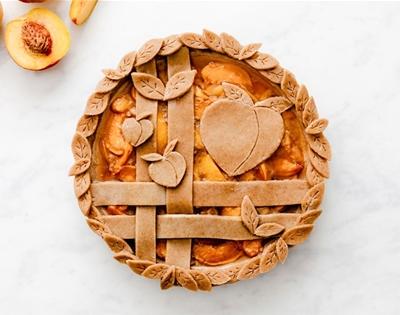 a peachy keen pie