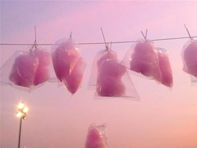 fairy floss grapes