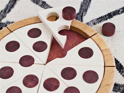 diy pizza puzzle