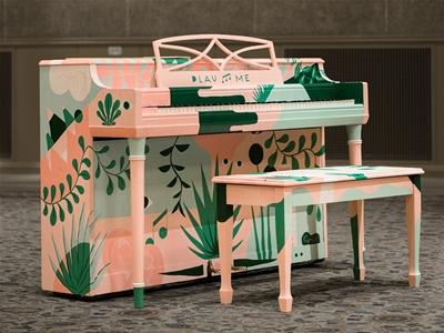piano. push. play.