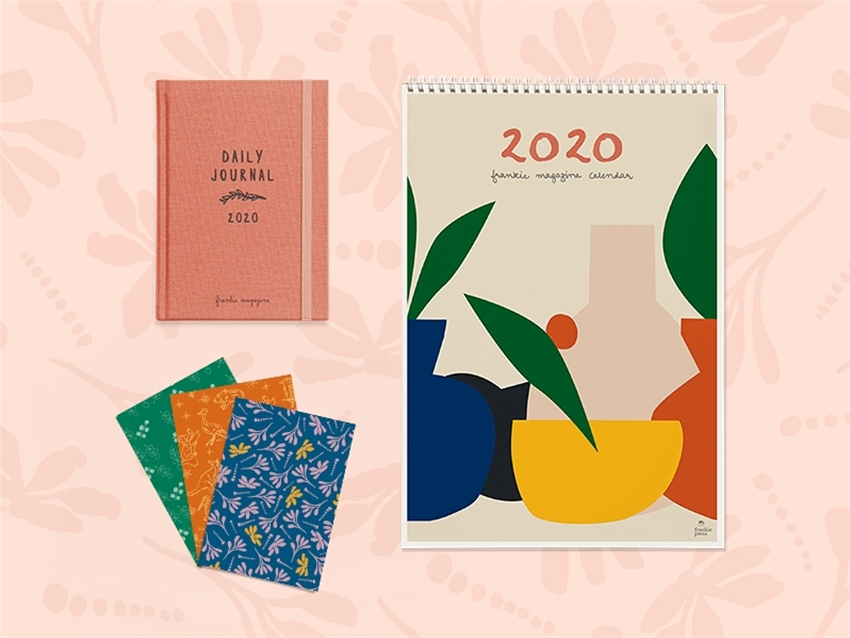 pre-order the 2020 frankie diary and calendar