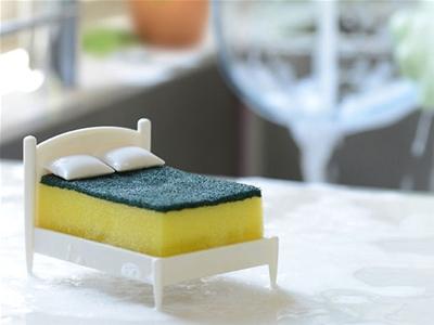 clean dreams sponge holder