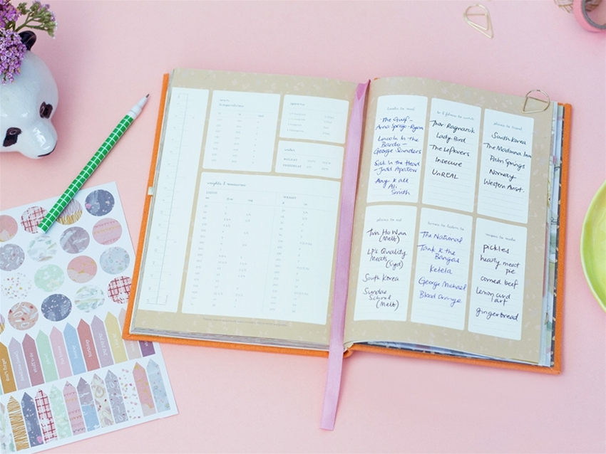 plan the important stuff with frankie's 2018 diary