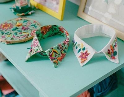 senorita lylo embroidered collars