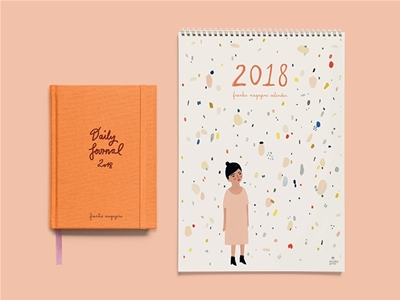 pre-order your 2018 frankie diary and calendar