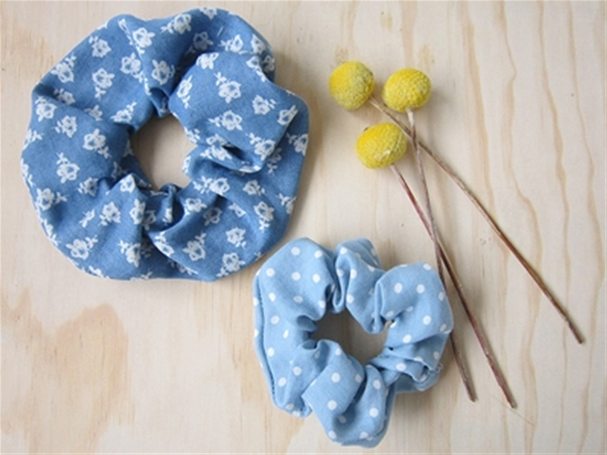 frankie exclusive diy: make a scrunchie