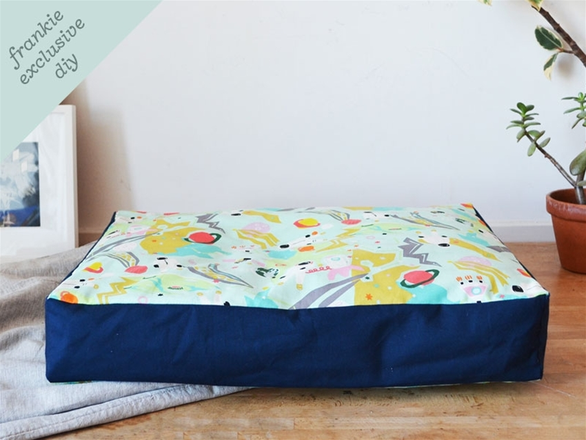 frankie exclusive diy: pet bed cover