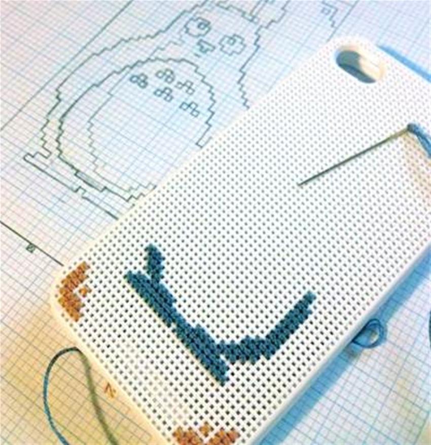 totoro cross-stitch