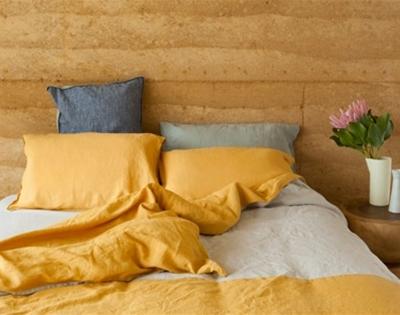 scottie store linen bedding