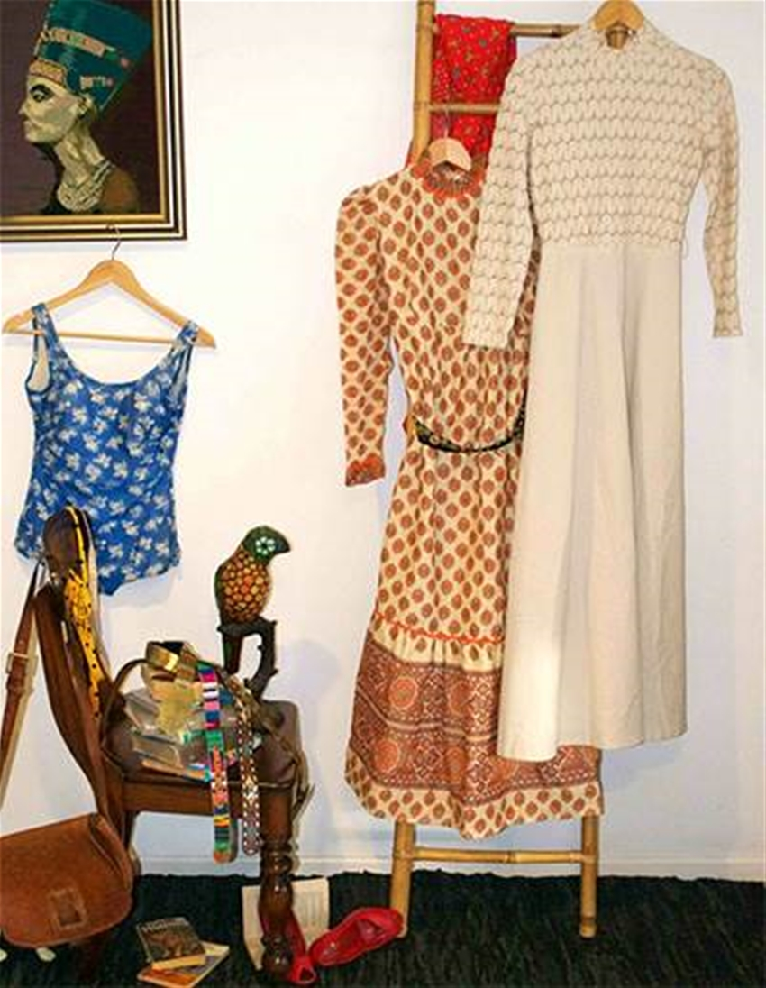julia stone's vintage dresses at sew and tell market