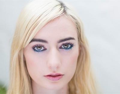 get fancy: festive coloured eyeliner