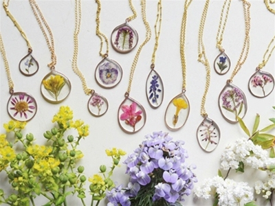 some blooming nice necklaces