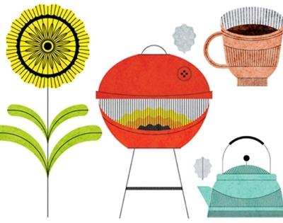 lan truong's everyday illustrations
