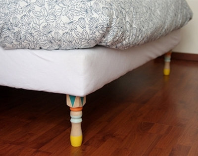 spruce up your bed legs