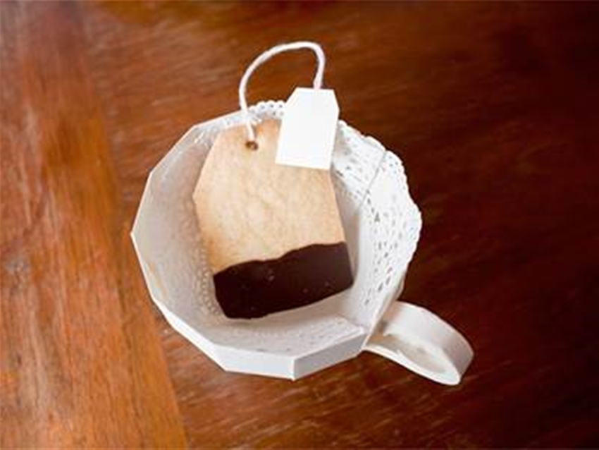 shortbread teabags diy (gluten free!)