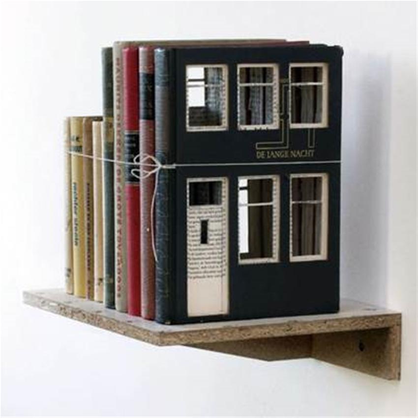 frank halmans houses built of books