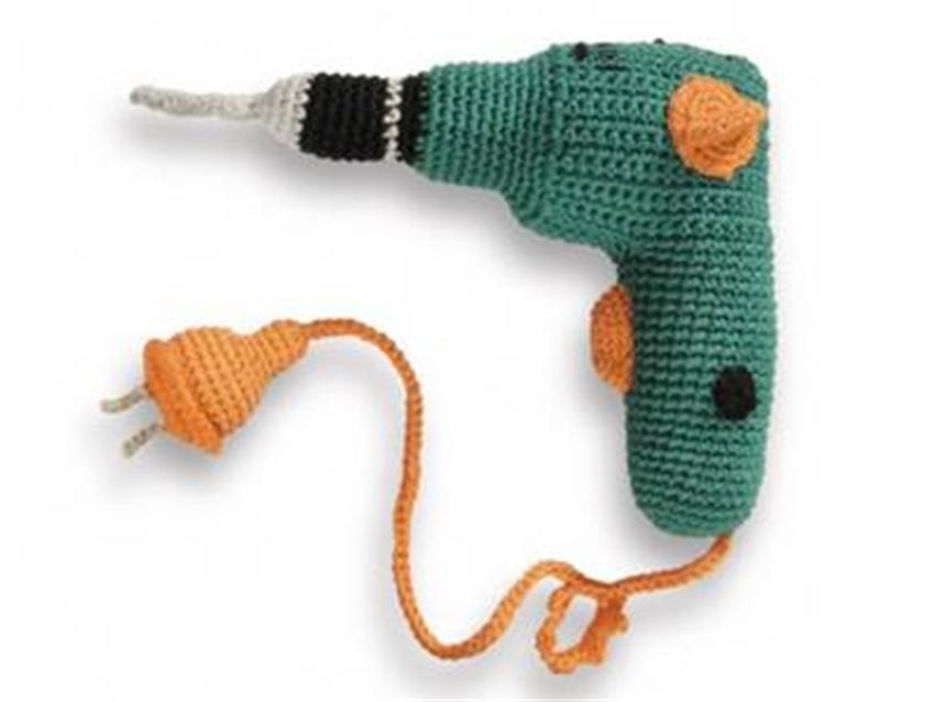 mini crocheted tools