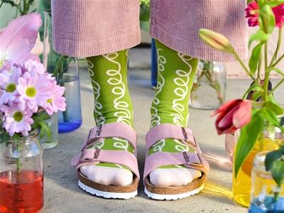 emily green socks for spring