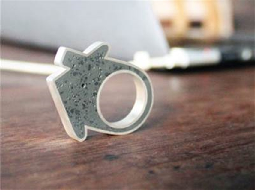 concrete house ring