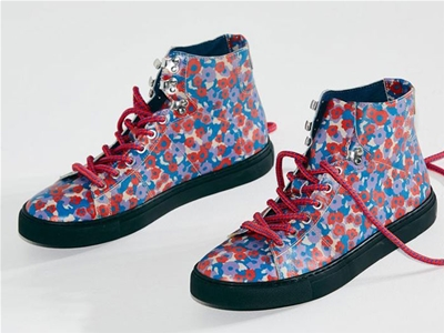 radical yes sneakers