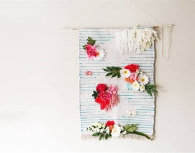 a weave-free wall hanging
