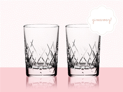stuff mondays – vera wang wedgwood glasses