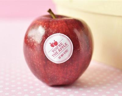 customised apple stickers