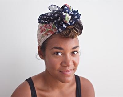 get fancy: headscarf styling