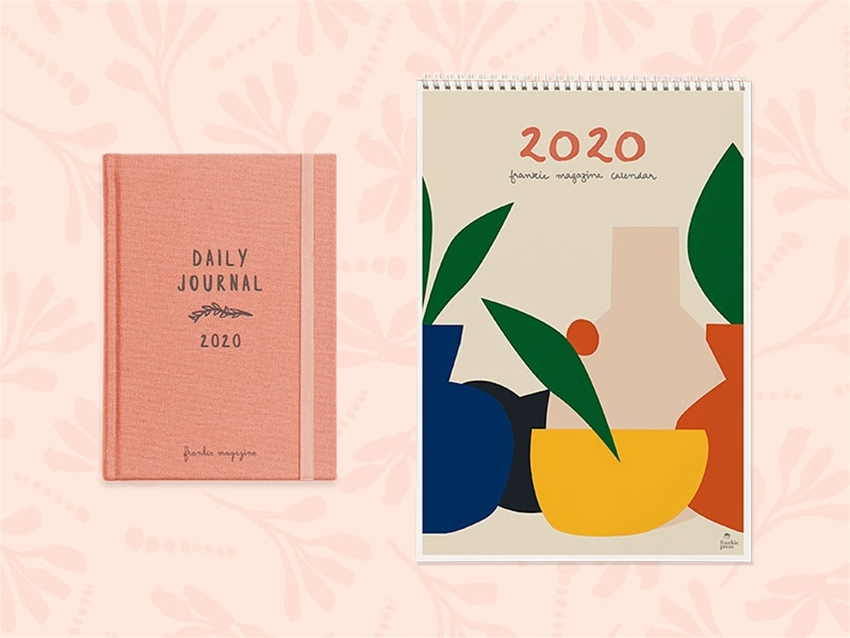 the frankie 2020 diary and calendar are now on sale