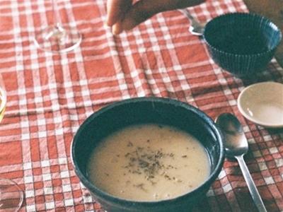 rice, thyme and lemon comfort soup