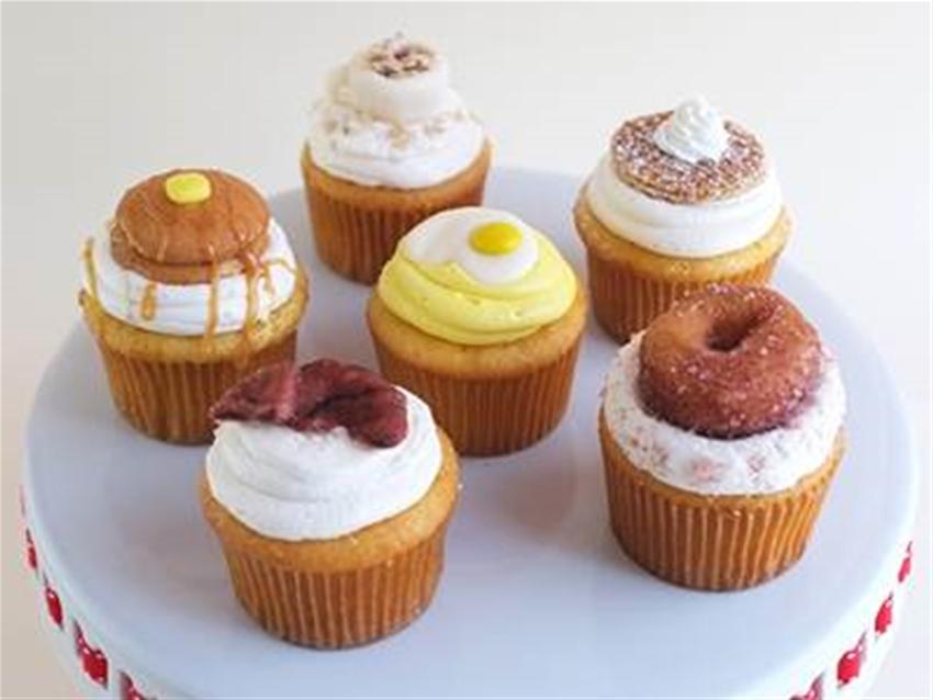 breakfast cupcakes