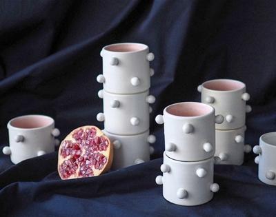 mini pom pom cups