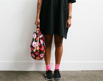 frankie exclusive diy: summer bucket bag