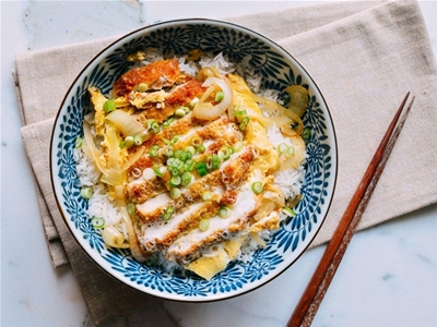 japanese pork cutlet and egg recipe