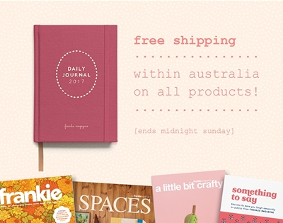 free shipping on all frankie goodies