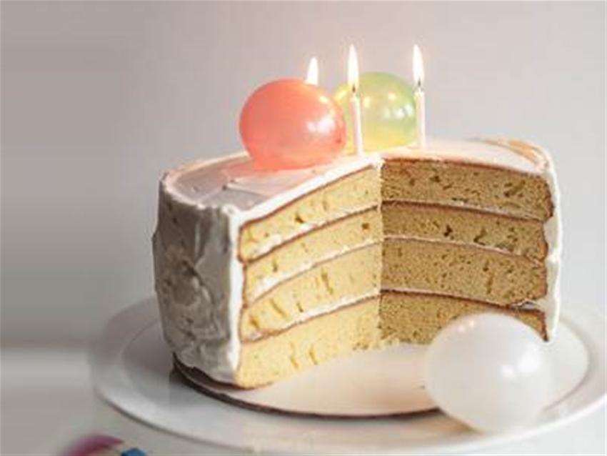 a very edible birthday balloon cake