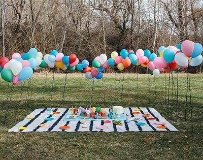 diy balloon wall