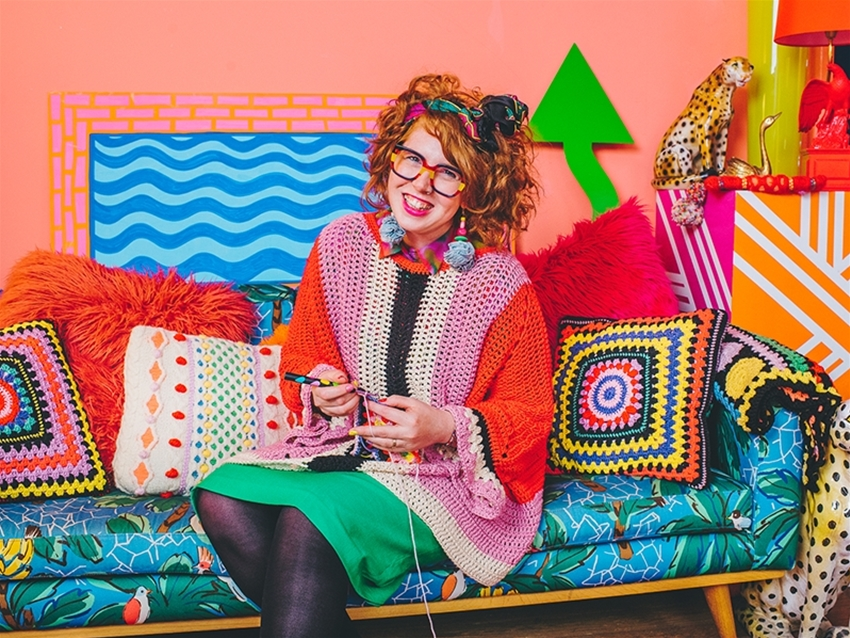 word from the wise: how to become ace at knitting and crochet with... katie jones