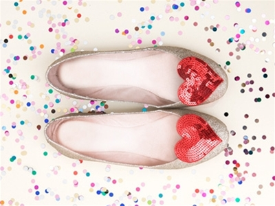 bando sequined shoe clips and accessories