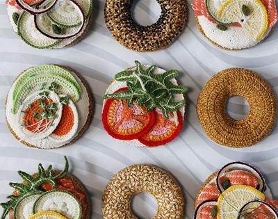 the crochet bagel bar